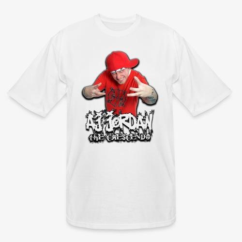 AJ Jordan Red Hat Design PNG - Men's Tall T-Shirt