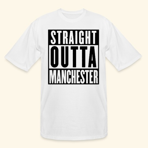 STRAIGHT OUTTA MANCHESTER - Men's Tall T-Shirt