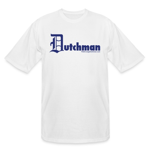 10 final dutchman d blue - Men's Tall T-Shirt
