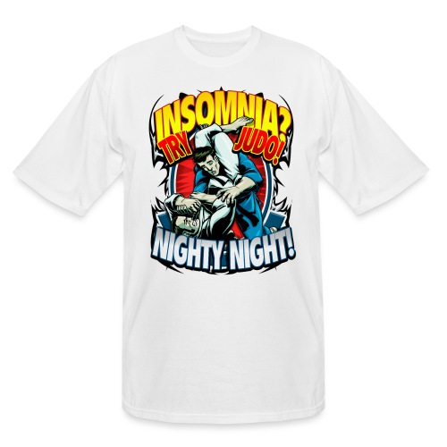 Insomnia Judo Design - Men's Tall T-Shirt