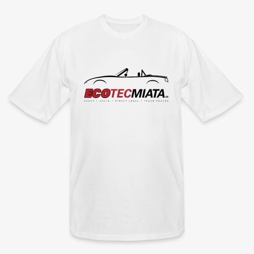 Ecotec Miata Logo - Men's Tall T-Shirt