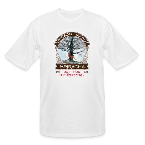 Vermont Maple Sriracha - Men's Tall T-Shirt