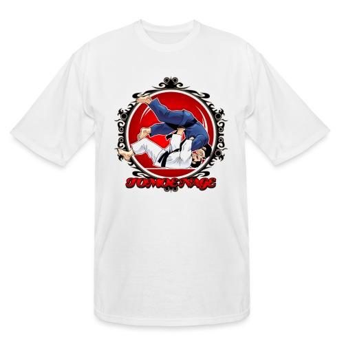 Judo Throw Tomoe Nage - Men's Tall T-Shirt