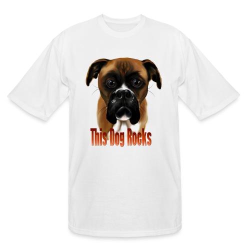 This Dog Rocks - Men's Tall T-Shirt