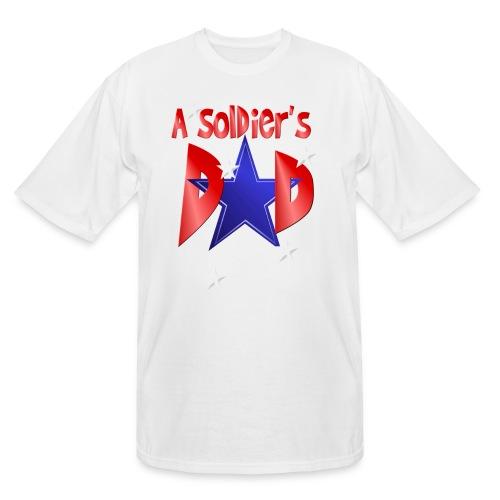 A Soldier's Dad - Men's Tall T-Shirt