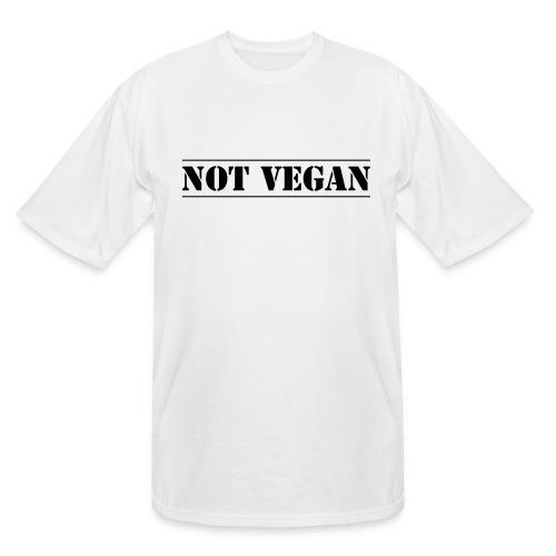 NOT VEGAN - Men's Tall T-Shirt