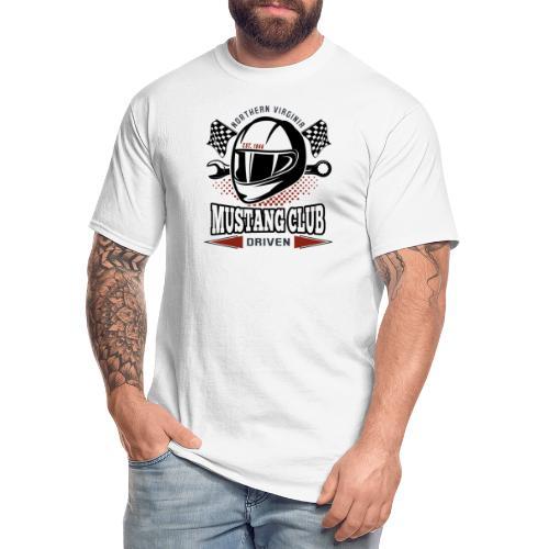 Race Helmet - Men's Tall T-Shirt