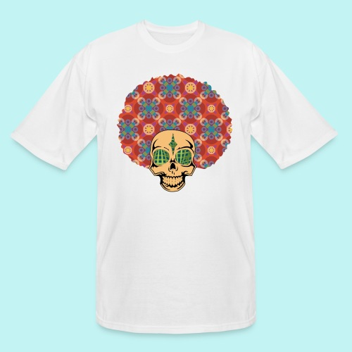 MACK DADDY SKULLY - Men's Tall T-Shirt