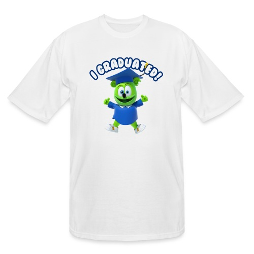 I Graduated! Gummibar (The Gummy Bear) - Men's Tall T-Shirt