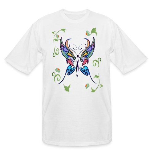 Bright Butterfly - Men's Tall T-Shirt