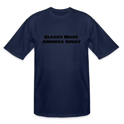 (blacks_made_america) - Men's Tall T-Shirt