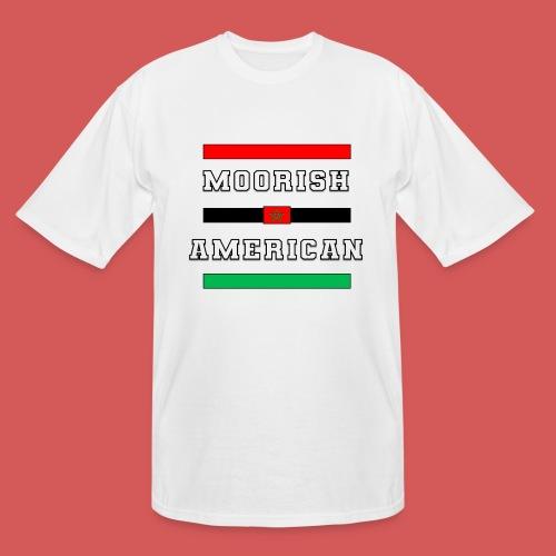 Moorish American Bars - Men's Tall T-Shirt
