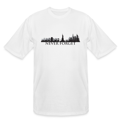 New York: Never Forget - Men's Tall T-Shirt