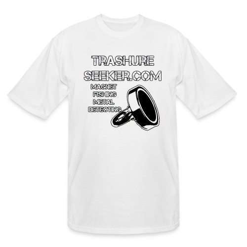 trashureseeker logo - Men's Tall T-Shirt