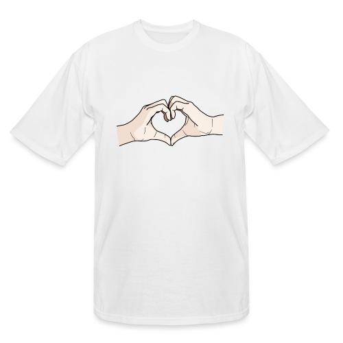 Heart Hands - Men's Tall T-Shirt