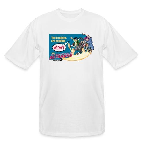 Astrodog Trouble - Men's Tall T-Shirt