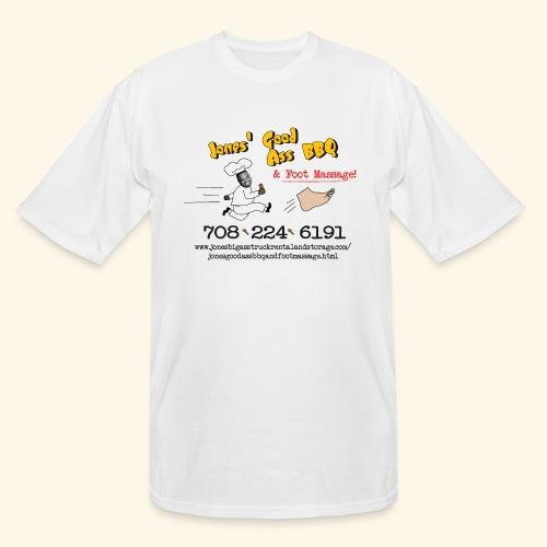 Jones Good Ass BBQ and Foot Massage logo - Men's Tall T-Shirt