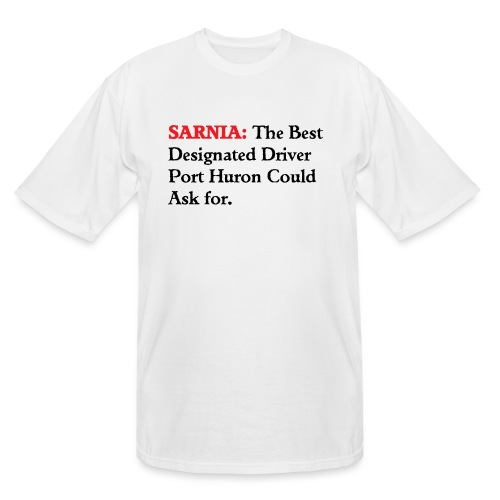 Sarnia: The Best Designated Driver - Float Down - Men's Tall T-Shirt
