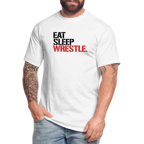 Eat Sleep Wrestle - Men's Tall T-Shirt