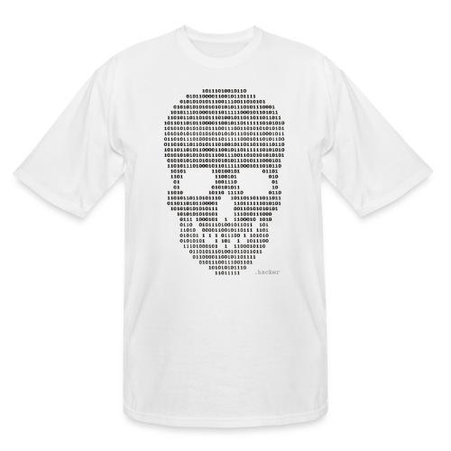 Hacker binary - Mens - Men's Tall T-Shirt