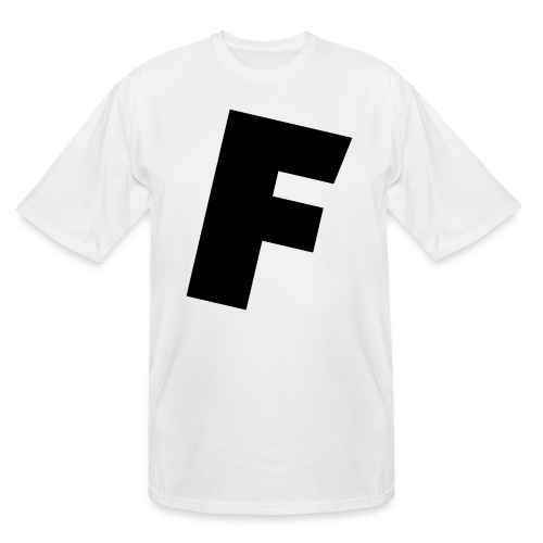 F slanted - Men's Tall T-Shirt