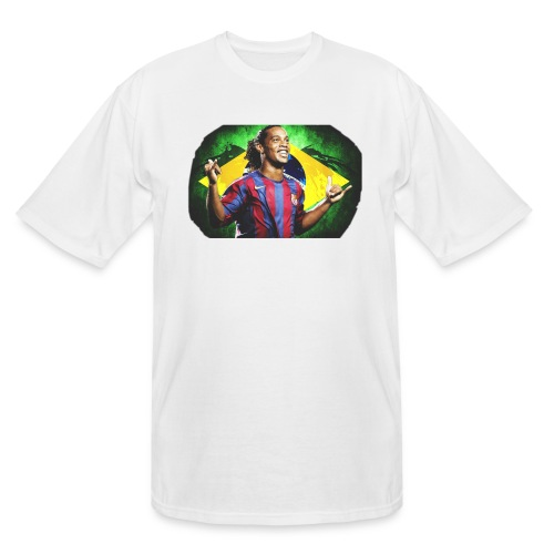 Ronaldinho Brazil/Barca print - Men's Tall T-Shirt