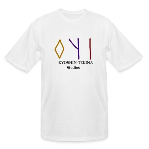 Kyoshin-Tekina Studios logo (black test) - Men's Tall T-Shirt