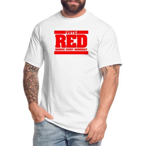Remove every Democrat - Men's Tall T-Shirt