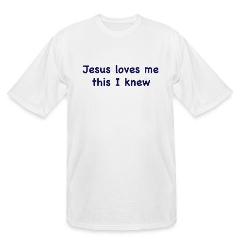 jesus loves me - Men's Tall T-Shirt