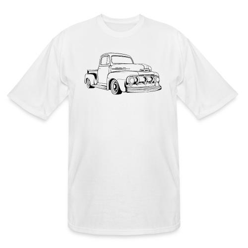 1951 F100 Classic Pickup Truck Men's T-Shirt - Men's Tall T-Shirt
