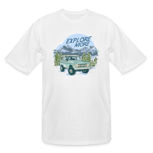 Bronco Truck Explore more II Graphic T-Shirt - Men's Tall T-Shirt