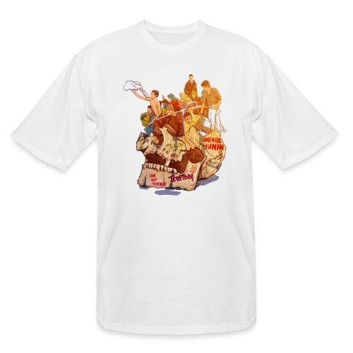 Skull & Refugees - Men's Tall T-Shirt