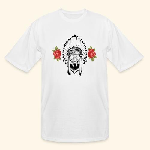 WOLF KING - Men's Tall T-Shirt