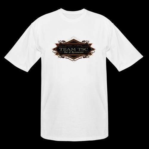 teamTSC badge03 Bar - Men's Tall T-Shirt