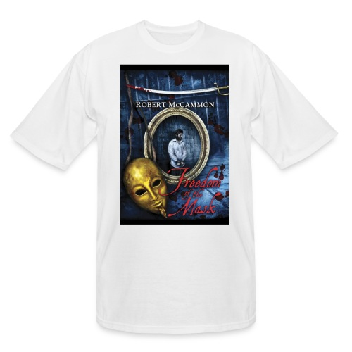 Freedom of the Mask - Men's Tall T-Shirt