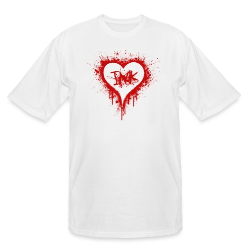 I Love Ink_red - Men's Tall T-Shirt