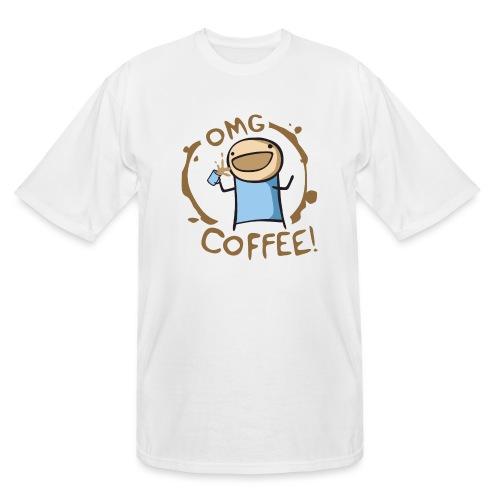 OMG COFFEE - Men's Tall T-Shirt