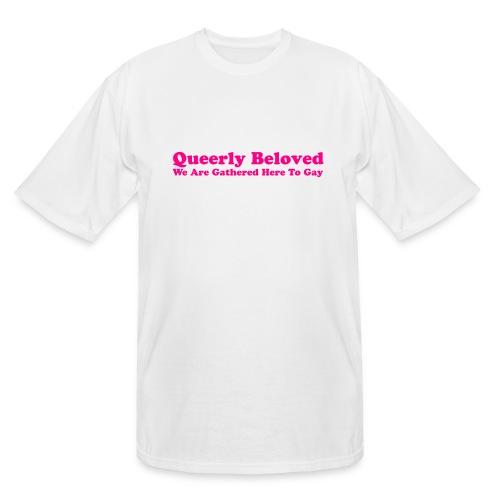 Queerly Beloved - Mug - Men's Tall T-Shirt