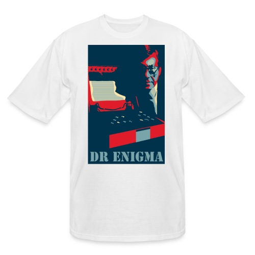 Dr Enigma+Enigma Machine - Men's Tall T-Shirt