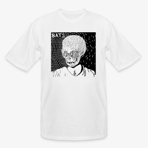 BATS TRUTHLESS DESIGN BY HAMZART - Men's Tall T-Shirt