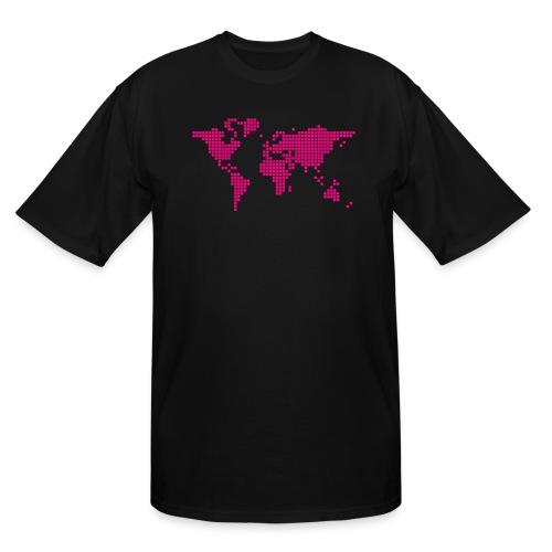 It s a Pixelous World - Men's Tall T-Shirt
