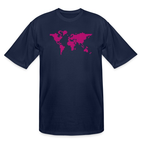 It s a Pixelous World - Men's Tall T-Shirt