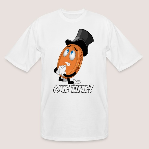 THE ONE TIME PENNY - Men's Tall T-Shirt