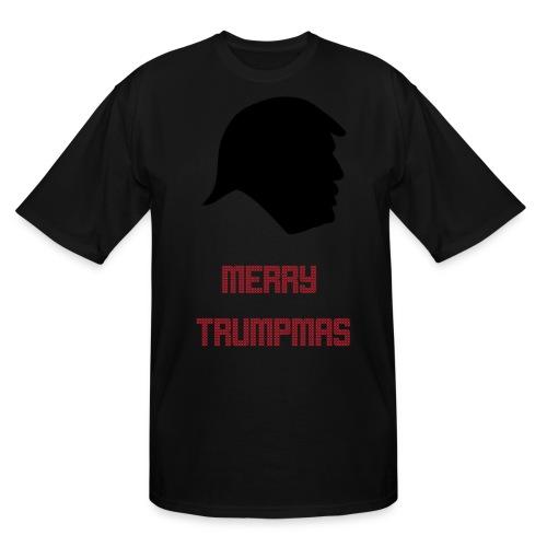 Merry Trumpmas Red - Men's Tall T-Shirt