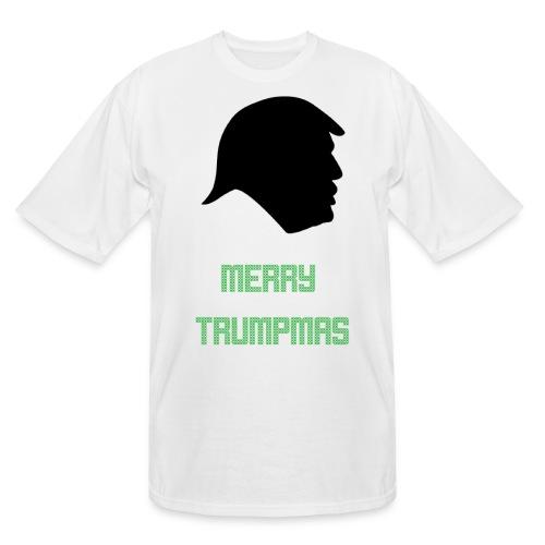 Merry Trumpmas Green - Men's Tall T-Shirt