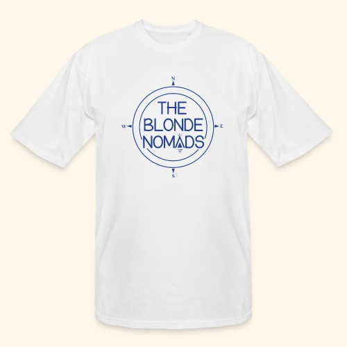 The Blonde Nomads Blue Logo - Men's Tall T-Shirt