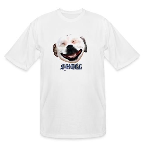 Pit Bull Smile-Brightest - Men's Tall T-Shirt
