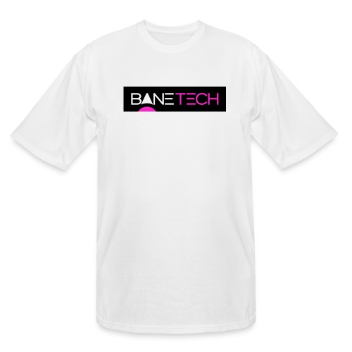 Bane Tech Logo Black/Pink - Men's Tall T-Shirt