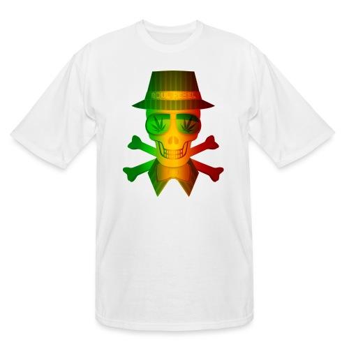 Rasta Man Rebel - Men's Tall T-Shirt