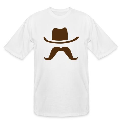 Hat & Mustache - Men's Tall T-Shirt